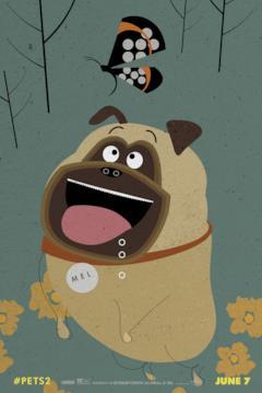 Il cane Mel torna per Pets 2