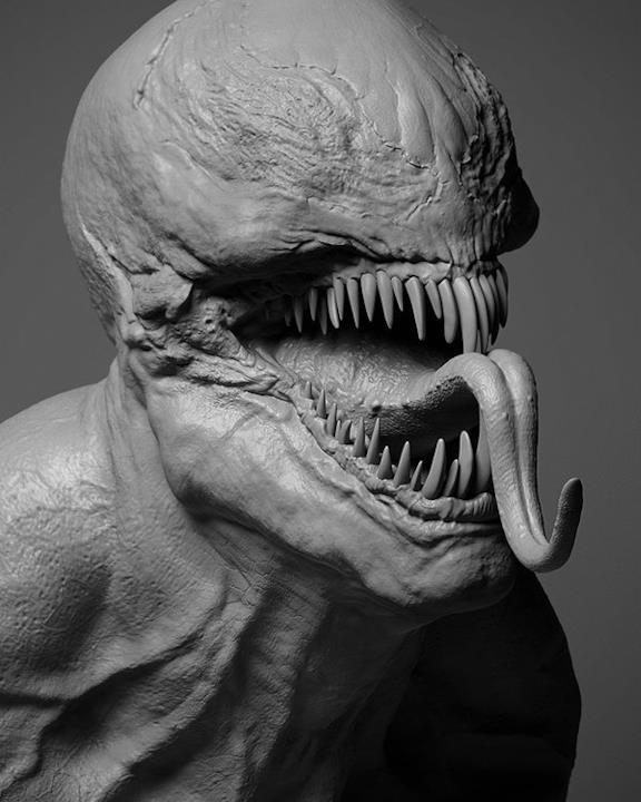 Venom si mostra in tutta la sua abominevole bellezza