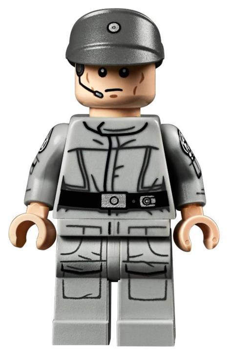 Le minifigure di due ufficiali dell'Impero