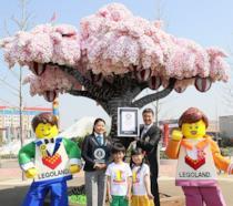L'albero di ciliegio di LEGO entra nel Guinness dei Primati