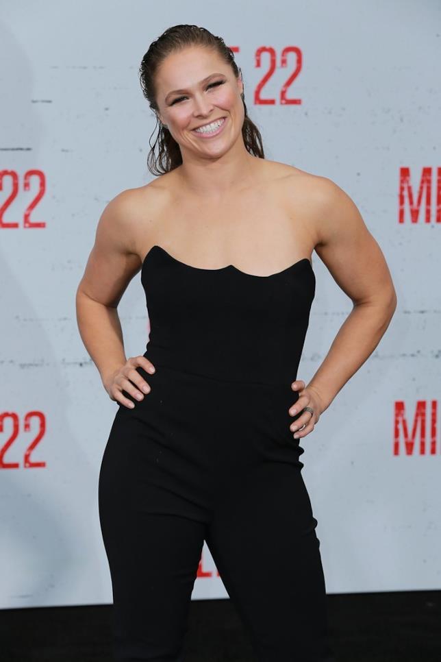 Ronda Rousey, attrice e lottatrice di wrestling