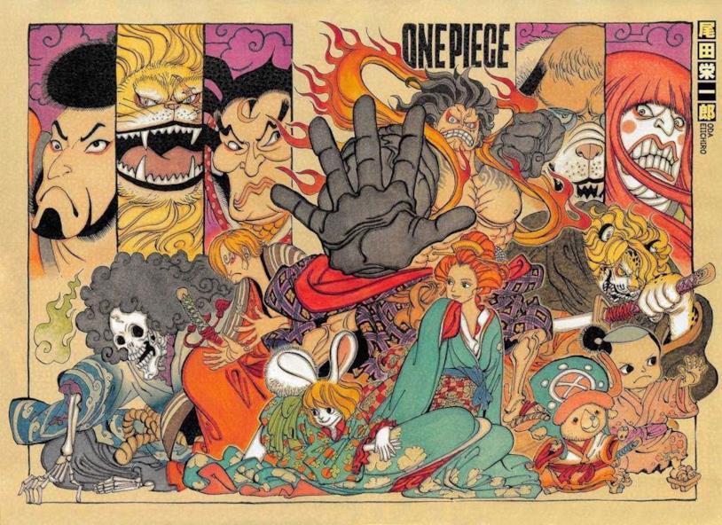 One Piece Japan art