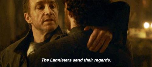 I lannister vi mandano i loro saluti - Le nozze Rosse e la morte del Re del Nord