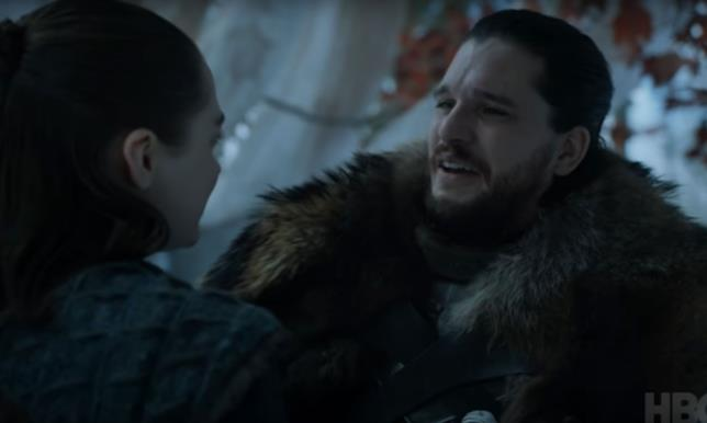 GoT 8: Jon e Arya