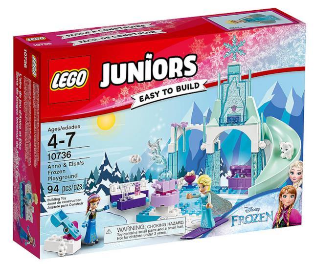 Dettagli del box del set LEGO Il castello di ghiaccio di Elsa e Anna