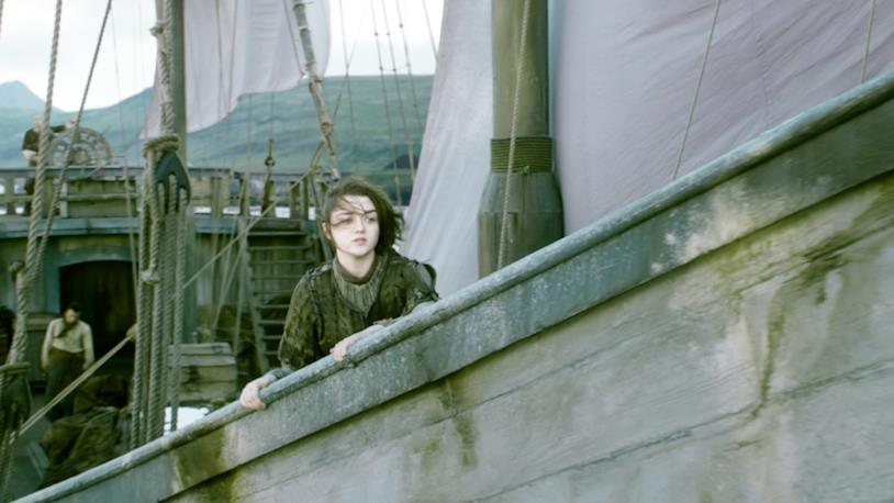 Arya salpa verso Braavos