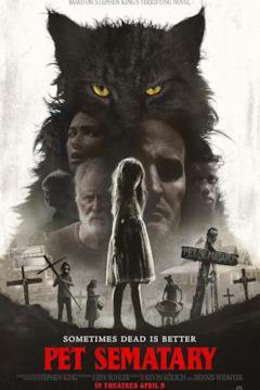 I protagonisti di Pet Sematary nella locandina del film
