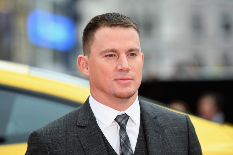 Channing Tatum alla premiére inglese di Logan Lucky