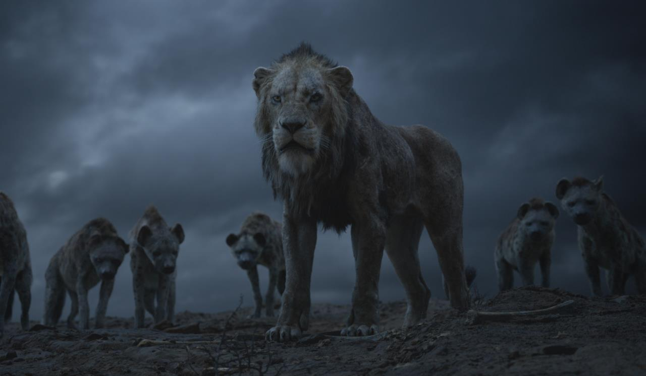 Scar e le iene che lo seguono