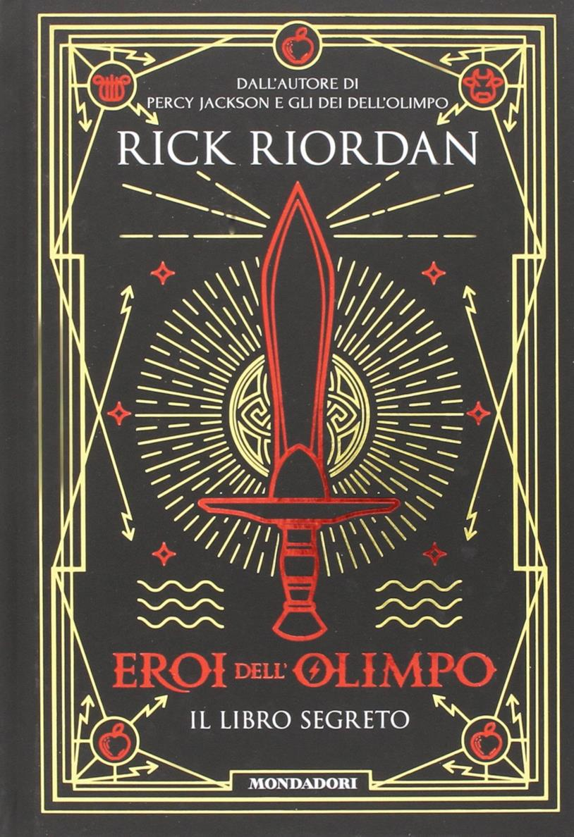 L'immagine di copertina di Eroi dell'Olimpo. Il libro segreto