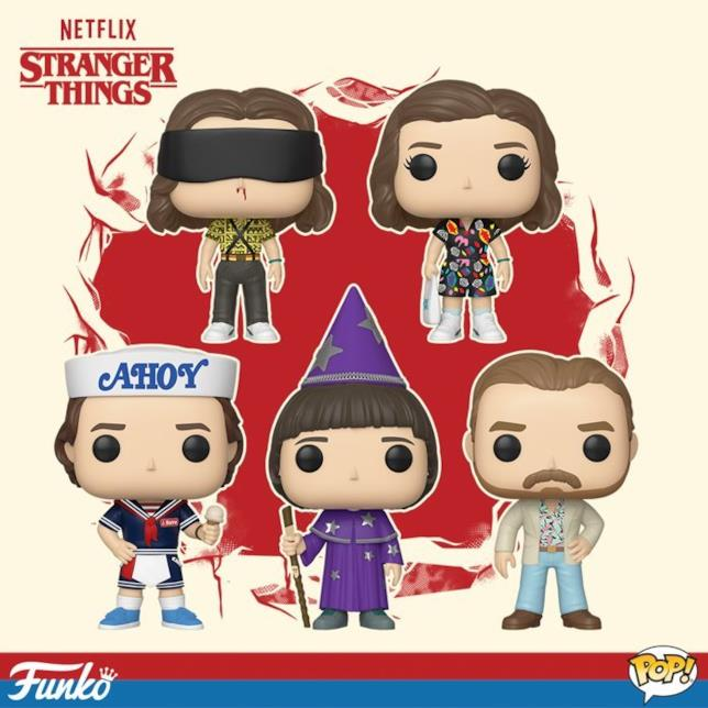 Funko Pop personaggi Stranger Things