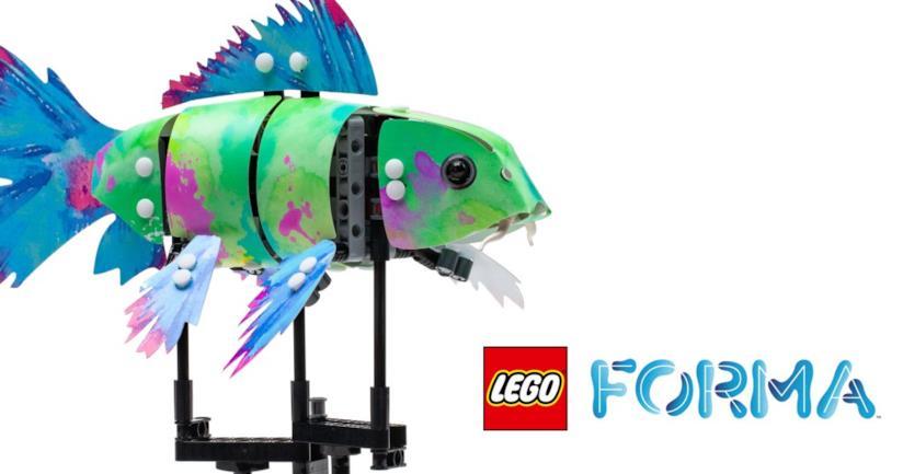 Una delle creazioni di LEGO Forma