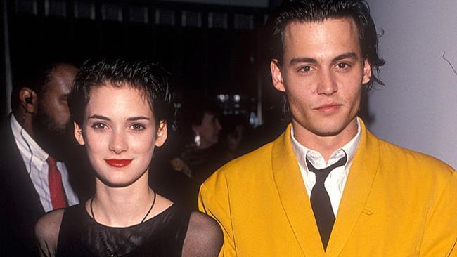 Winona Ryder e Johnny Depp