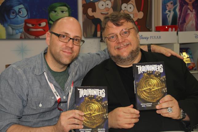 Guillermo Del Toro e Daniel Kraus fianco a fianco