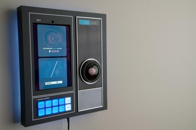 Hal-9000 la replica casalinga che funziona da altoparlante