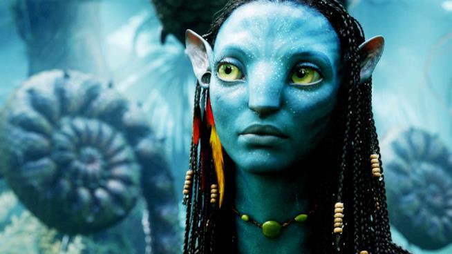 La protagonista di Avatar, nel primo film diretto da James Cameron