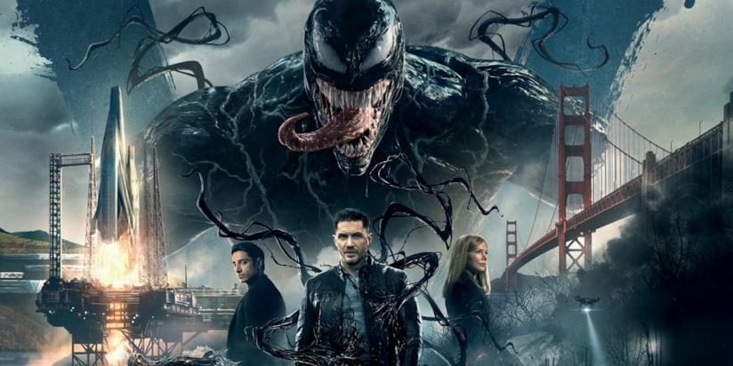 Un poster promozionale di Venom