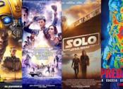 I poster di Bumblebee, Ready Player One, Solo: A Star Wars Story, The Predator