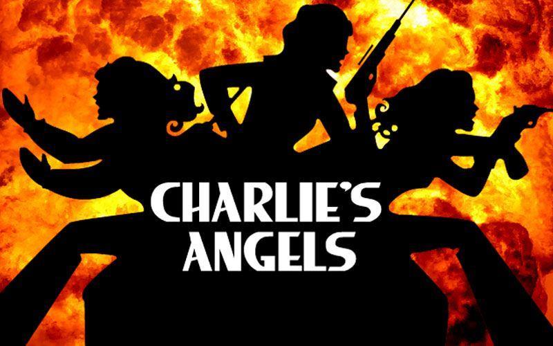 Il logo originale della serie di Charlie's Angels