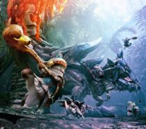 Uno splendido artwork ispirato alla saga di Monster Hunter
