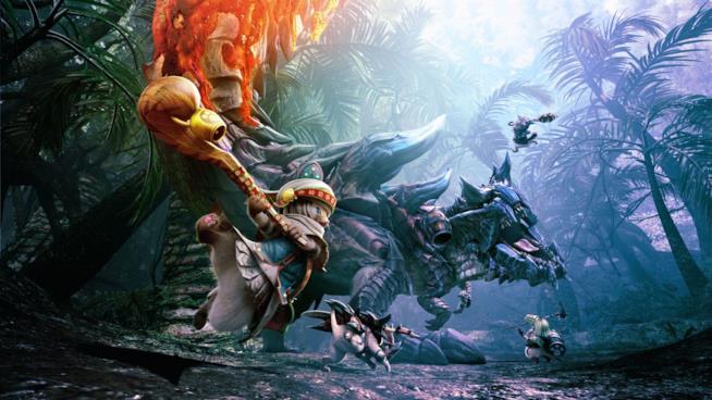 Uno splendido artwork ispirato alla saga di Monster Hunter