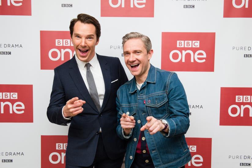 I protagonisti della serie Sherlock