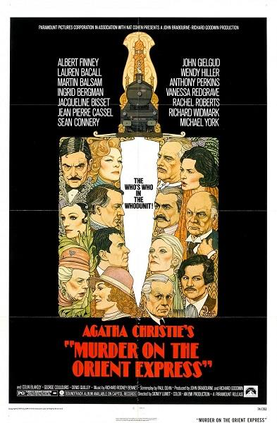 Assassinio sull'Orient Express di Sidney Lumet
