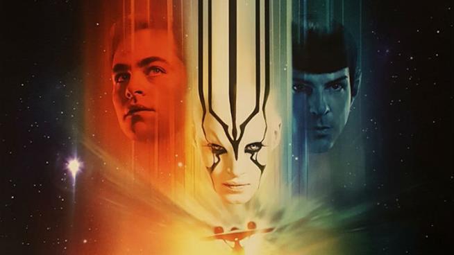 Un dettaglio della locandina di Star Trek: Beyond