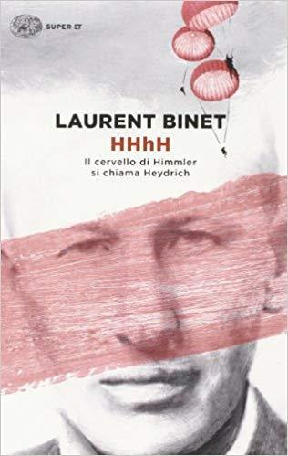 Copertina del libro di Laurent Binet HHhH - Il cervello di Himmler Heydrich