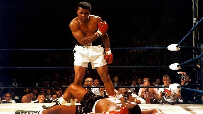 Muhammad Alì sul ring