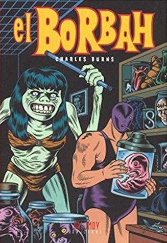 La copertina del fumetto di Charles Burns