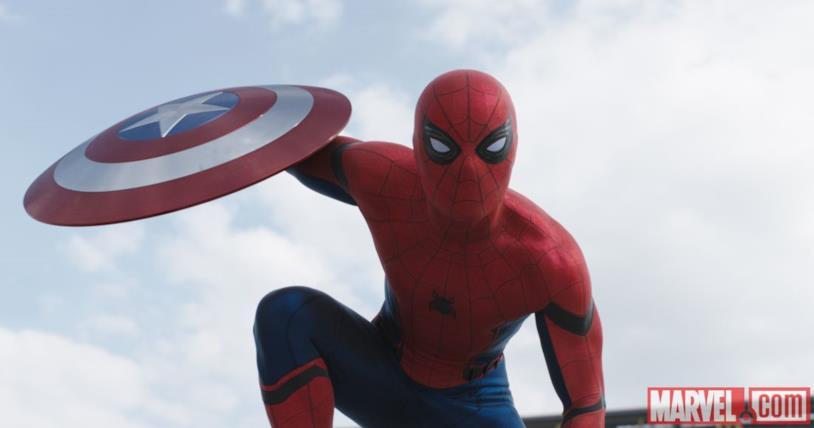 Spider-Man in Capitan America: Civil War