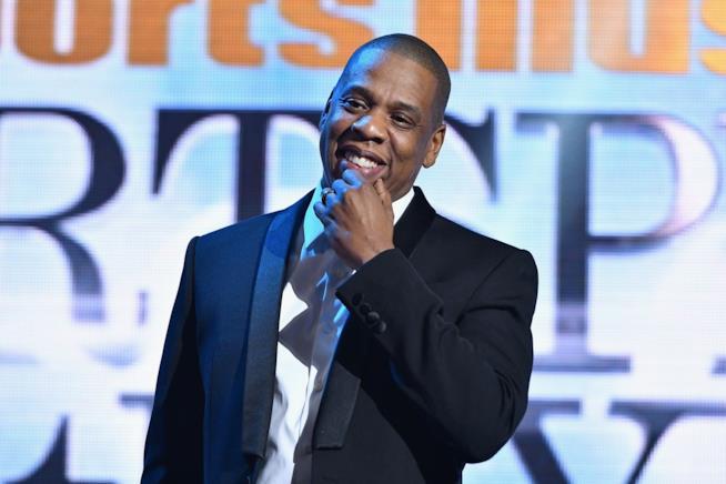 Primo piano di Jay Z