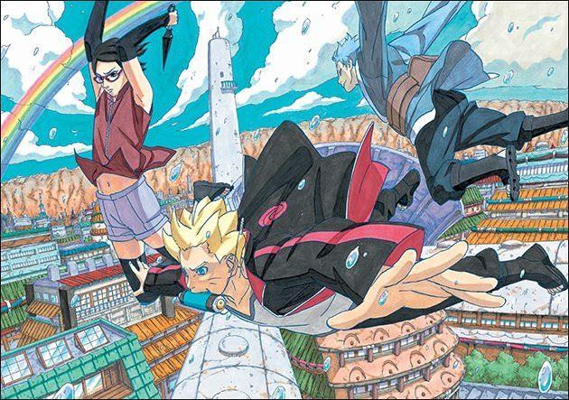 Boruto: i personaggi principali del manga spin-off