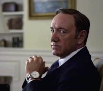 Kevin Spacey aka Frank Underwood in House of Cards