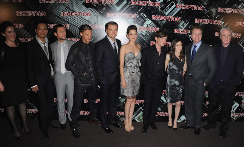 Il cast di Inception, film del 2010