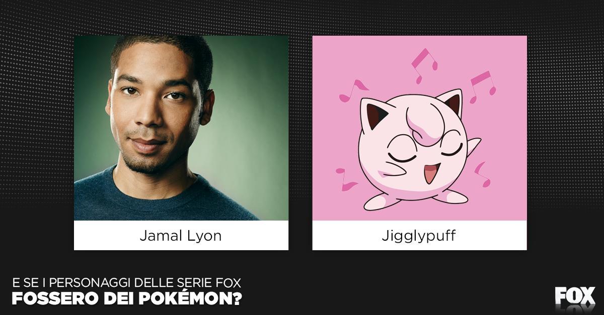 Jamal e Jigglypuff saranno mica parenti? Hanno la stessa voce delicata e il visino angelico.