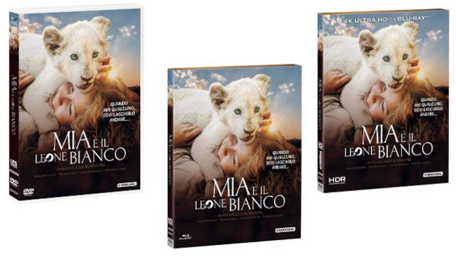 Mia e il leone bianco - Home Video - DVD, Blu-ray e Blu-ray 4K Ultra HD + BD