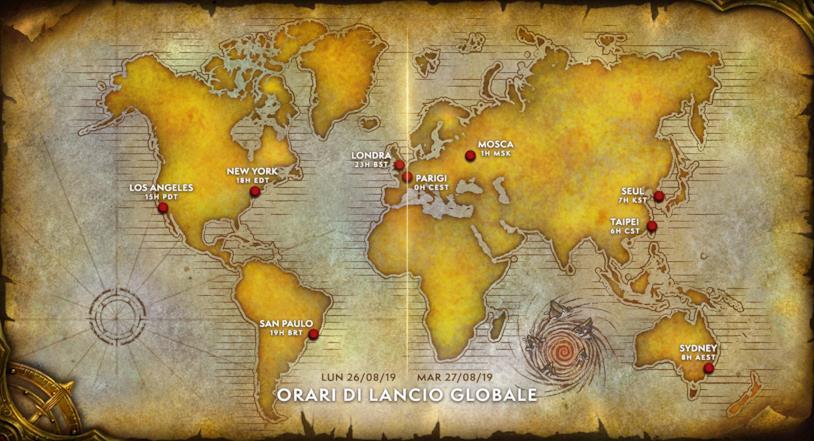 World of Warcraft Classic in uscita il 27 agosto 2019