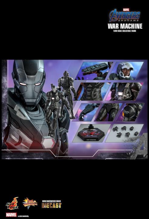I dettagli del War Machine di Hot Toys