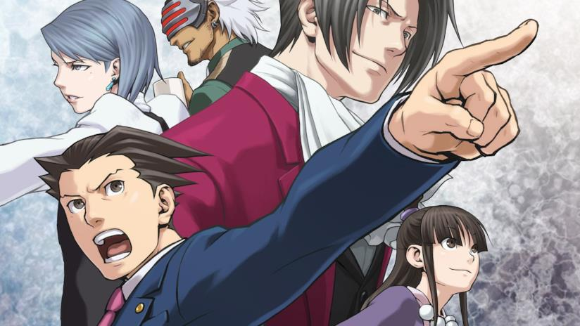La copertina di Phoenix Wright Ace Attorney Trilogy