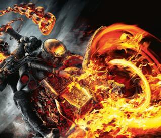 Il personaggio Ghost Rider di Marvel