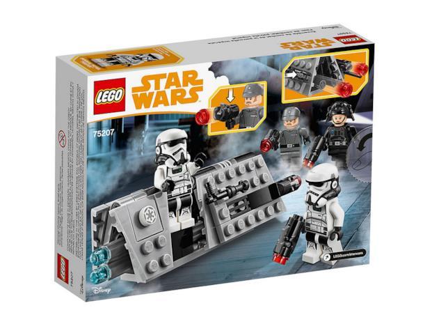 Dettagli sul box del set di LEGO Battle Pack Pattuglia imperiale