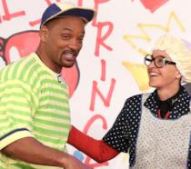 L'attore Will Smith con Ellen DeGeneres