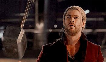 Thor è degno di brandire Mjolnir