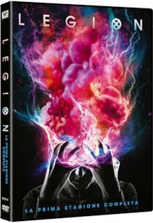 Il DVD con la prima stagione di Legion