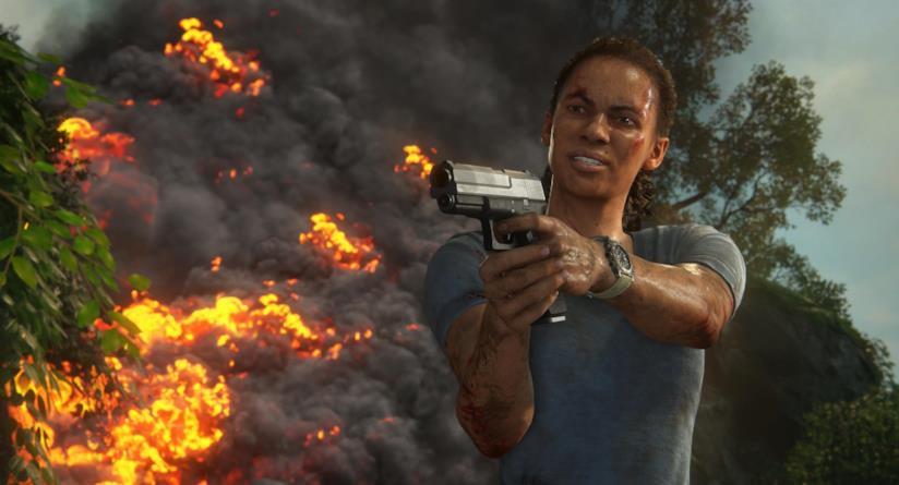 Nadine Ross pronta a premere il grilletto in Uncharted: L'Eredità Perduta