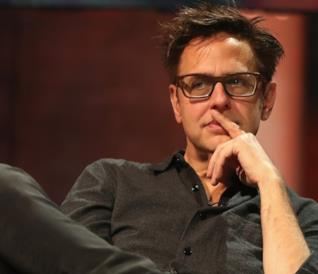 James Gunn a un evento pubblico