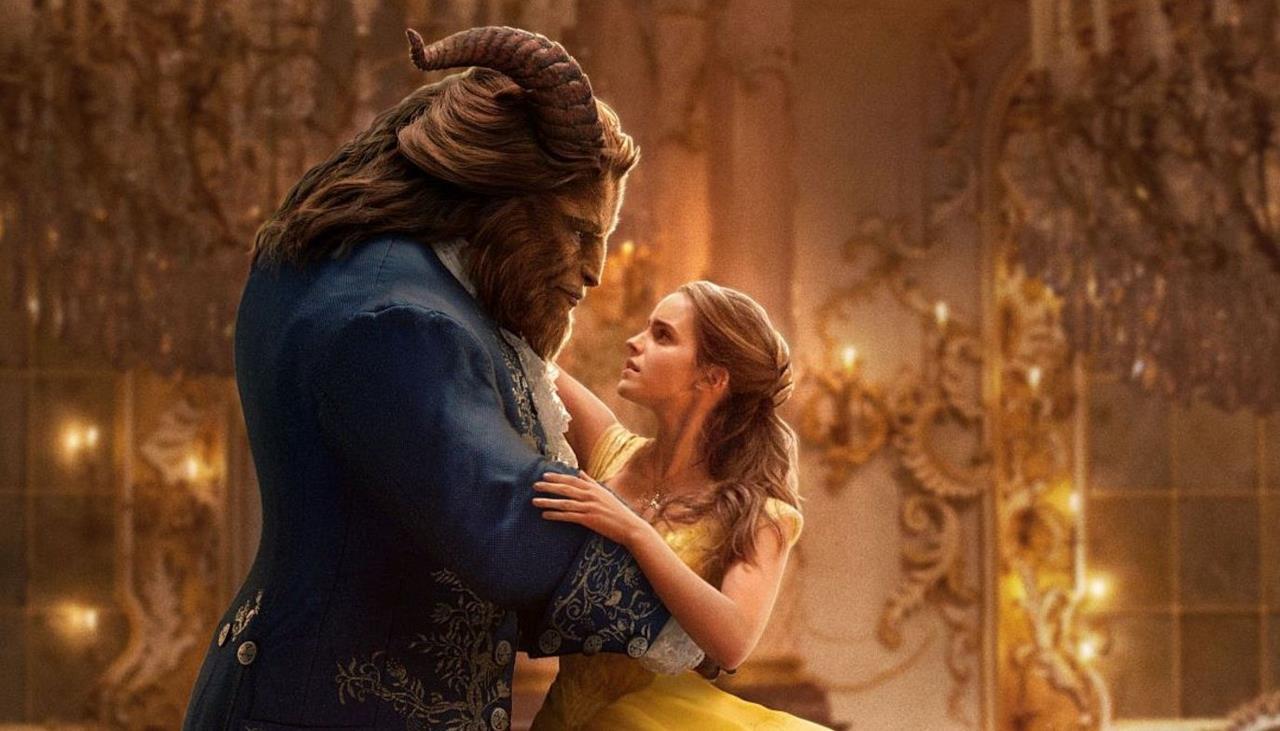 Belle tra le braccia della Bestia sulla copertina di EW