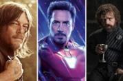 Da sinistra a destra: Daryl di The Walking Dead, Iron Man e Tyrion da Il Trono di Spade